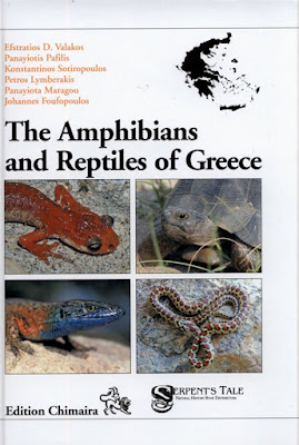 Libro: The amphibians and reptiles of Greece