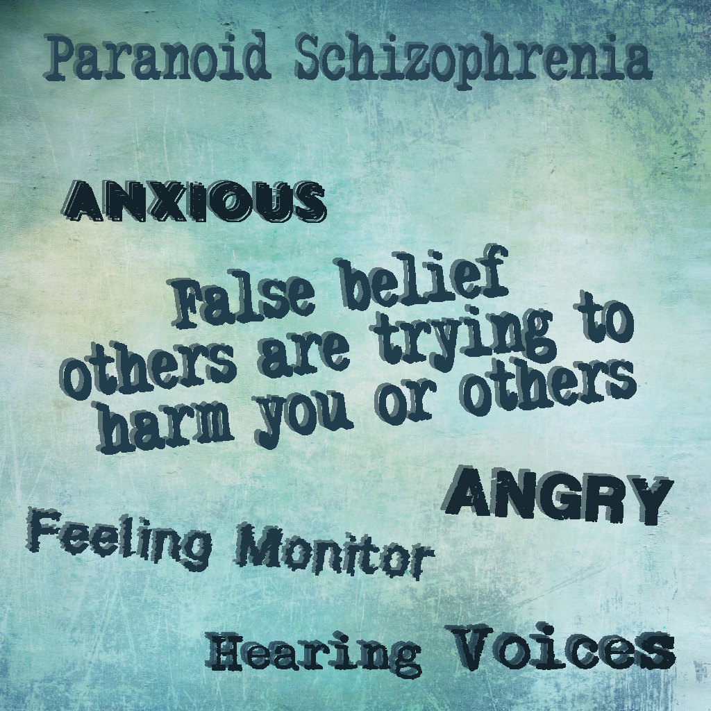 paranoid schizophrenia essay Schizophrenia is a complex disorder characterized by hallucinations (mostly being hearing voices), delusions (beliefs with no basis in reality), and.