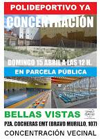 Concentración vecinal Polideportivo Bellas Vistas ¡Ya!