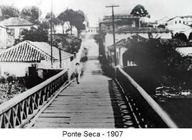 RUA DA PONTE SECA EM 1907