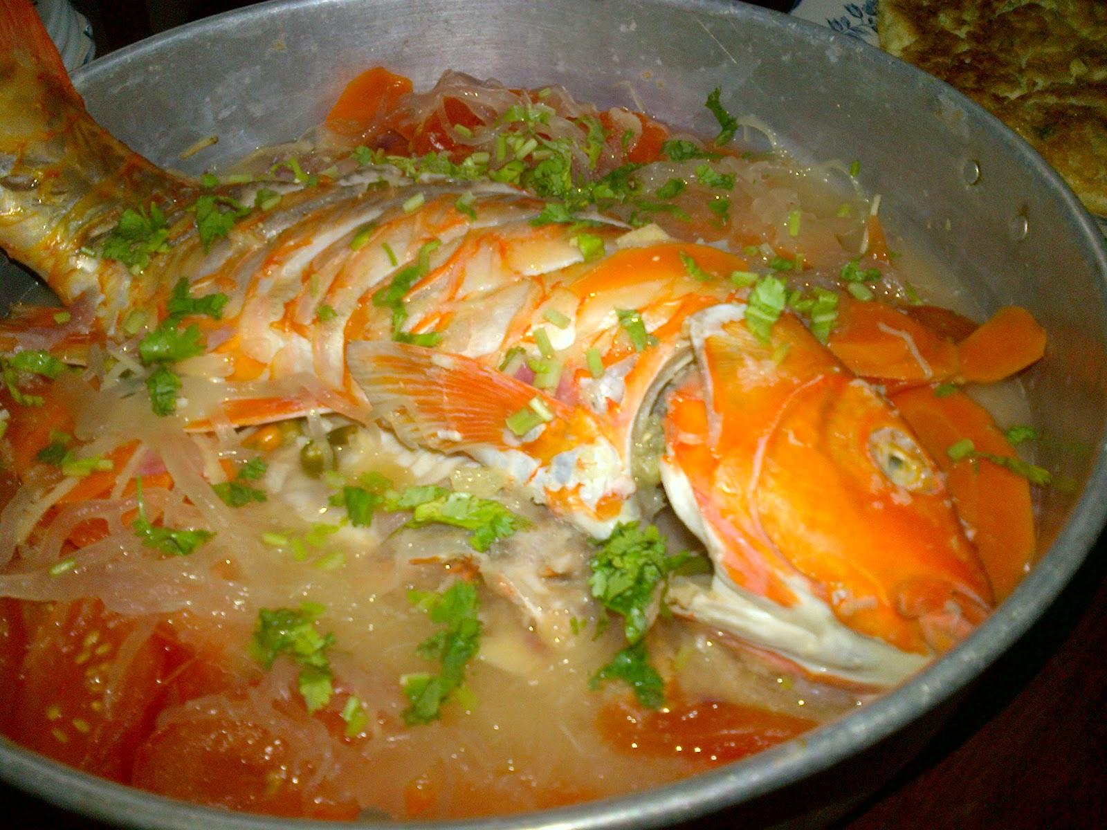 Sup Rumpai Laut Sabah Sup Cendawan Rumpai Laut