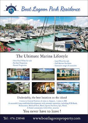 Ads. Boat Lagoon Park Residence ที่ลงตีพิมพ์