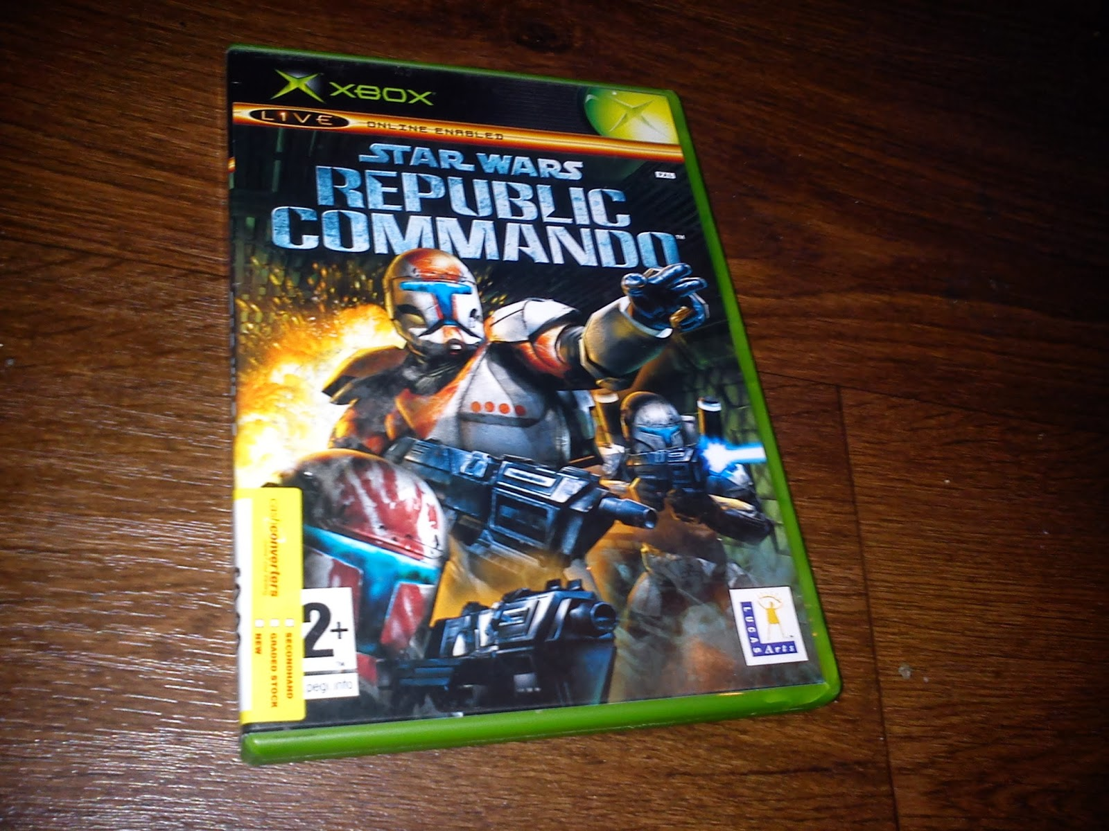 Back in Cash converters for a bit of Star Wars Republic commando for 99p It