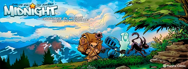 Banner Midnight, de Carlos Sisi e Ittai Manero