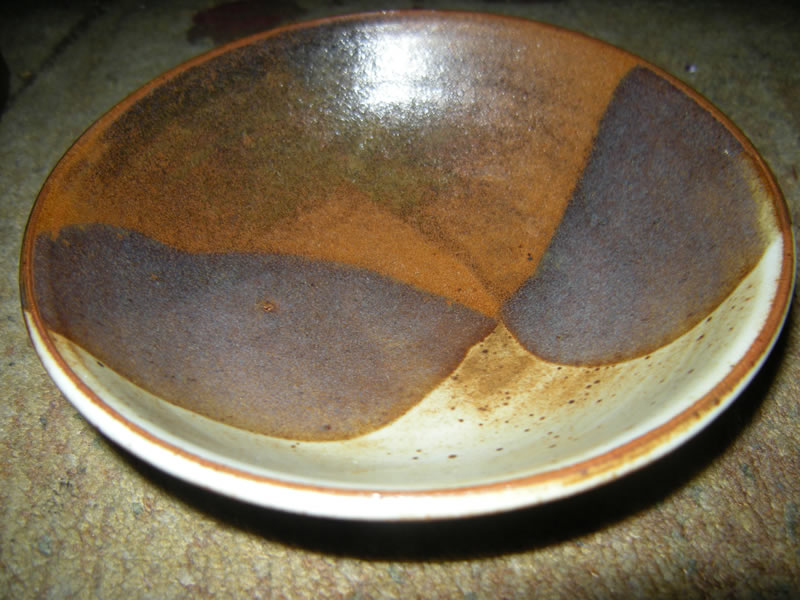 Studio Art Pottery Stonware Bowl by Marty Morgan