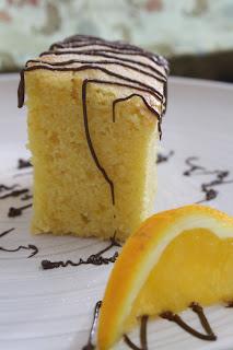 Resepi Orange Cake Mudah
