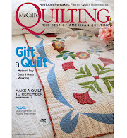 NEW! May/June 2019 McCall's Quilting