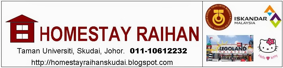 HOMESTAY RAIHAN SKUDAI  (011-10612232)