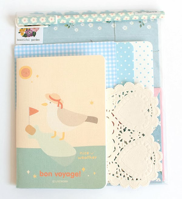 Happiness is... beautiful creative stationery from Korea via City Girl Searching