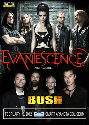 Evanescene & Bush Live Concert in Manila
