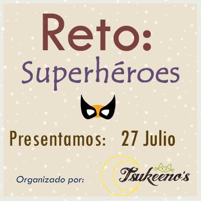 Reto Superheróes!Participem!
