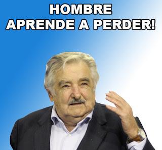 Meme Pepe Mujica Hombre aprende a perder