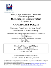 Candidate Forum October 15 for District 37 State Senate