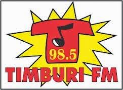 ouvir a Rádio Timburi FM 98,5 Andirá PR