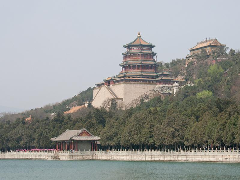 Le palais d'Été à Pékin