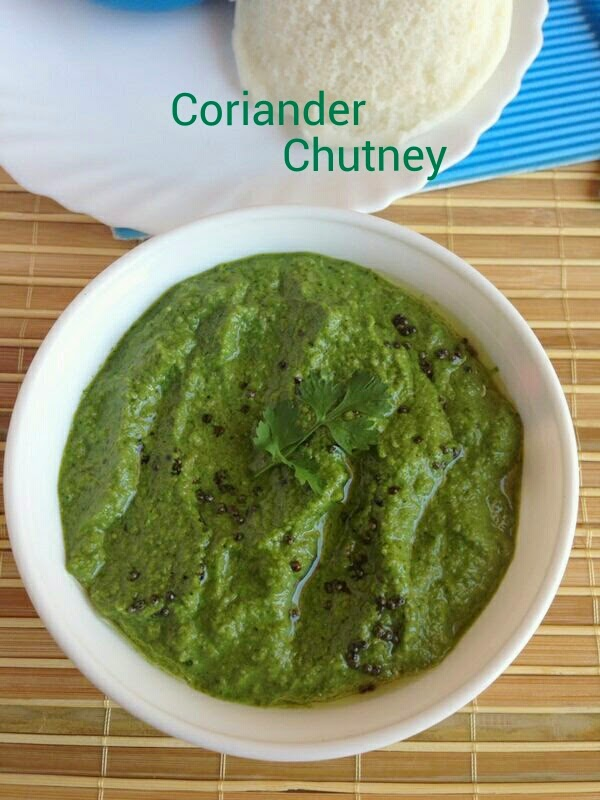 coriander chutney,green chutney