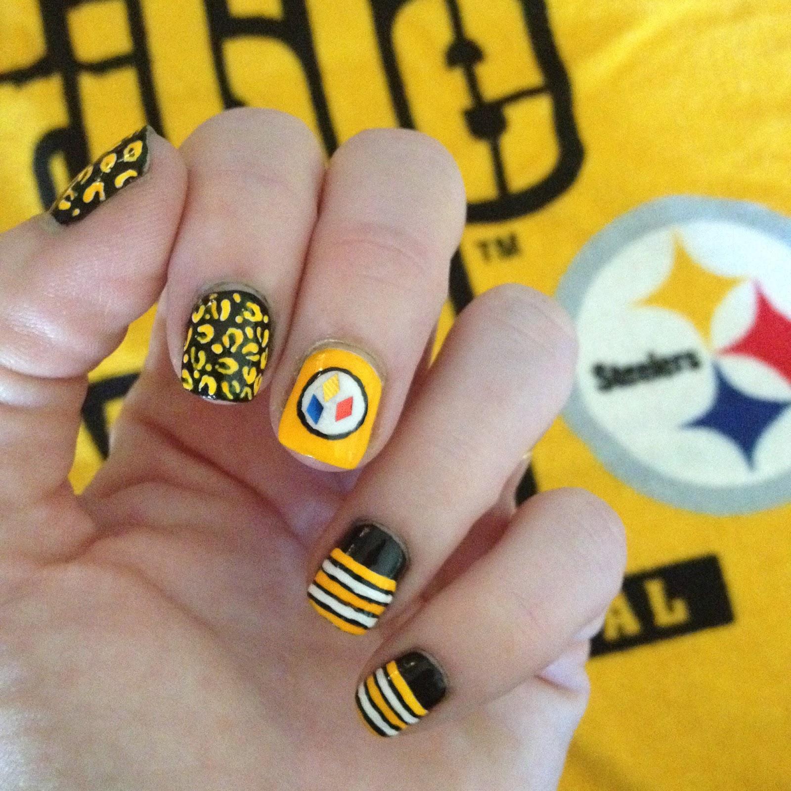 Steelers Nail Art Best Nail Designs 2018