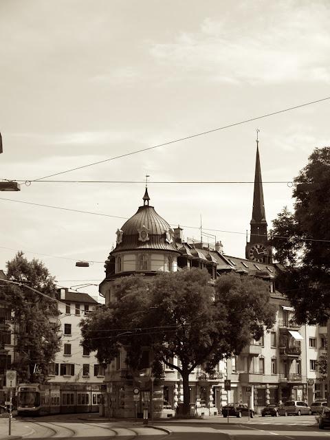 Imagen en sepia de Zurich