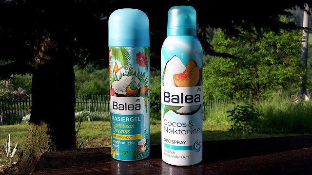 Balea: gél na holenie pre citlivú pleť Caribbean Dreams