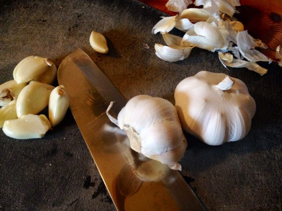 Grow fresh, organic garlic