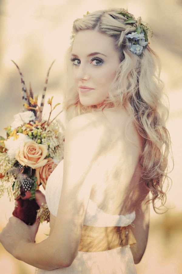 Wedding Hairstyles Flowers In Hair : All for weddings may