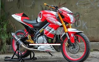 Foto-Foto Terbaru Yamaha New V-ixion Bergaya Motor Sport