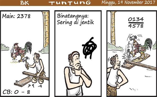 Prediksi Gambar Pak Tuntung Minggu 19 11 2017