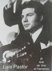Guitarrista Flamenco Luis Pastor Marin