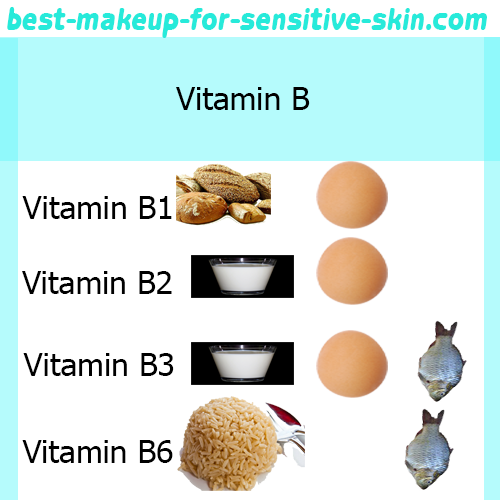 vitamin b is very important for sensitive skin