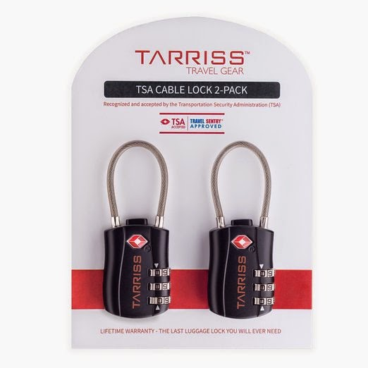 Jetsetter TSA Luggage Lock by Tarriss
