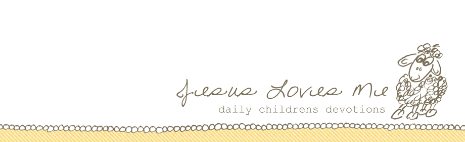 Jesus Loves Me | Daily Devotions for Preschoolers