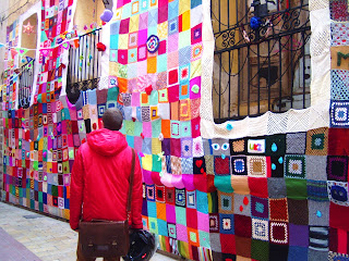Ganchillo Urban Knitting Zaragoza Calle Libertad