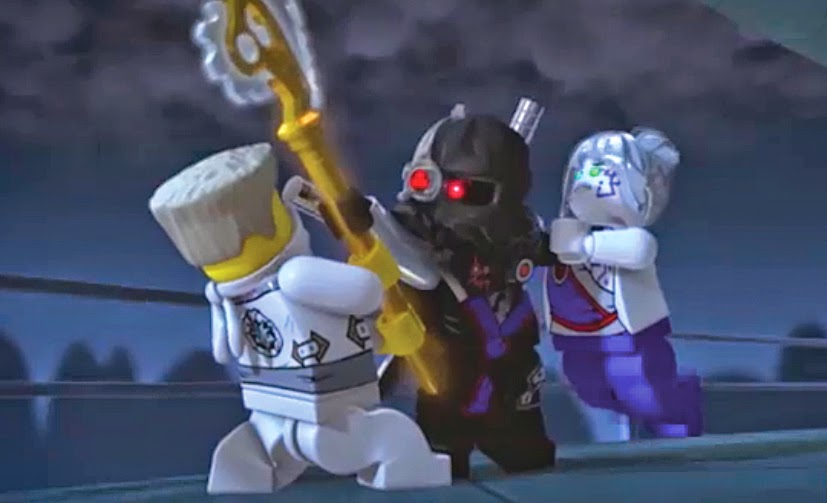 Inspired by Savannah: Own it NOW!! LEGO Ninjago: Rebooted: Battle ...