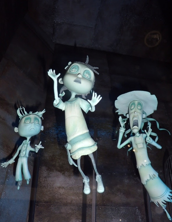 Coraline stop-motion animation ghost puppets