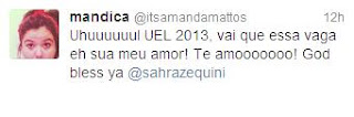 Twitter UEL Vestibular 2013