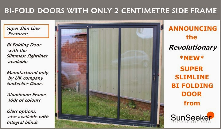 SunSeeker Doors Slimline SuperSlim 2cm BiFolding Door