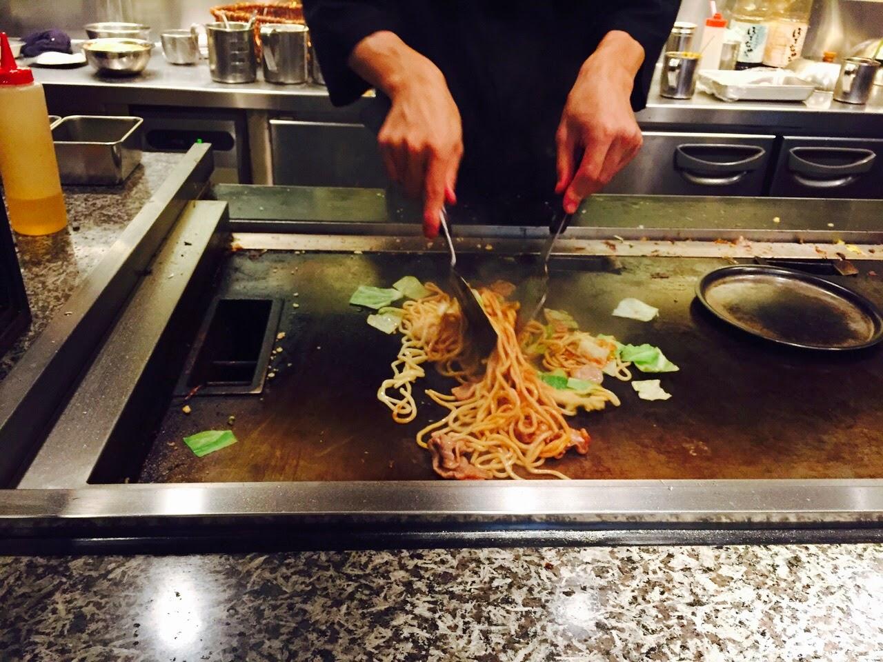 botejyu modanyaki okonomiyaki tokyo shinjuku japan