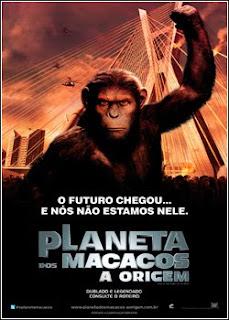 Planeta dos Macacos: A Origem BDRip AVI - Dublado