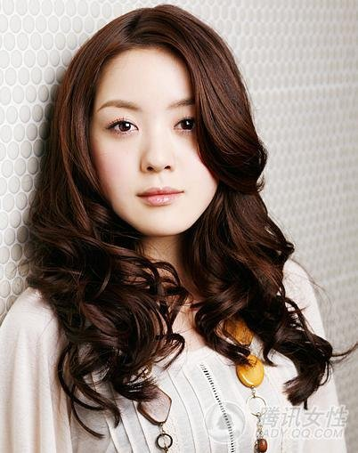 beauty aqua hair korean