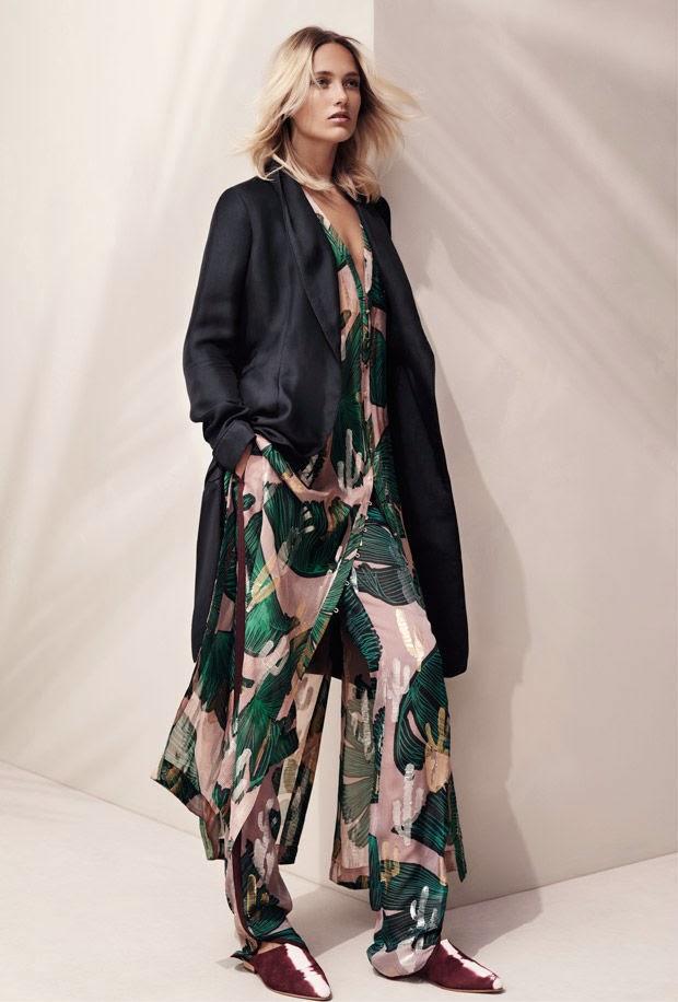 H&M Studio Spring/Summer 2015 Lookbook featuring Karmen Pedaru