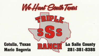 Thank You Triple SSS Ranch!