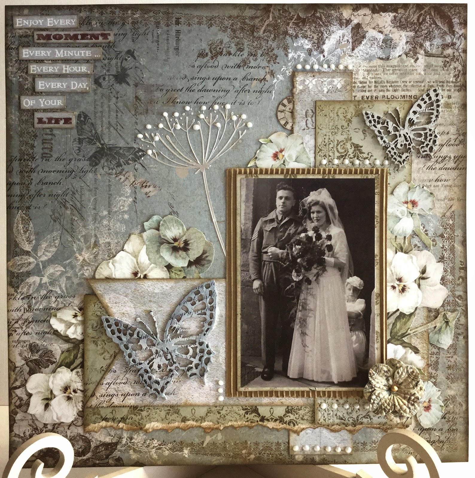 The Craftz Boutique Sanctuary Layout 2 Blue Fern Studios