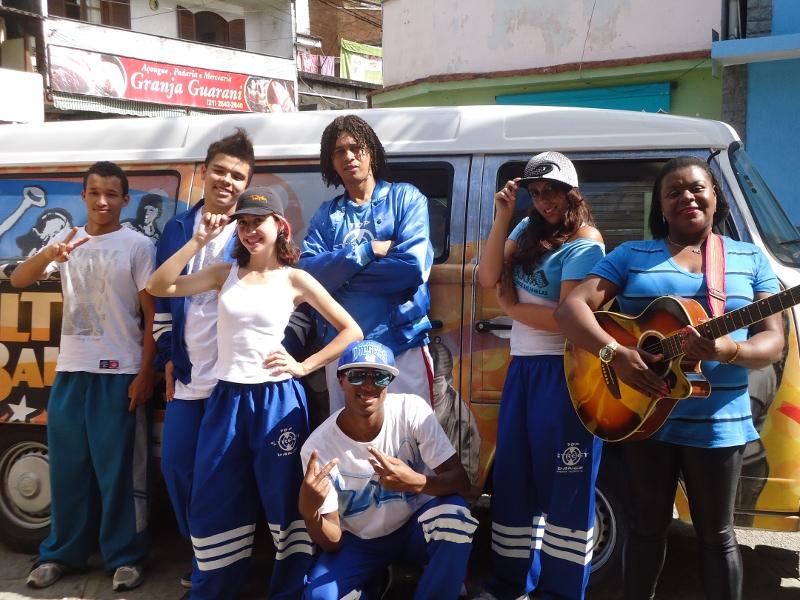 Grupo Top Street Dance e Wanda Pinheiro