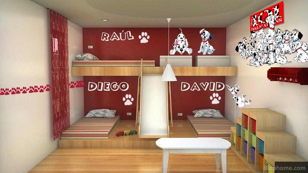 Decora hogar dormitorios con camarotes o literas modernas - Literas modernas para jovenes ...