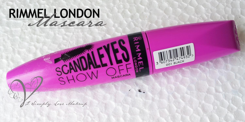 ReviewRimmel London Scandal Eyes Mascara Show Off QrxhtsdC