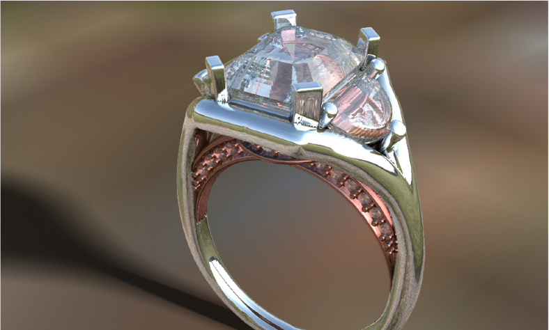 design your own engagement ring with custom