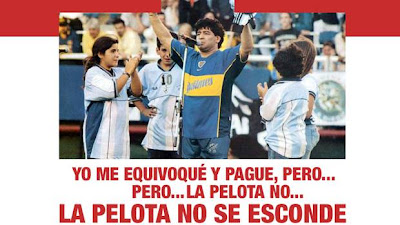 Afiche Independiente Maradona