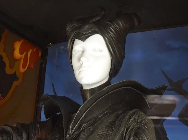 Maleficent costume horns and collar