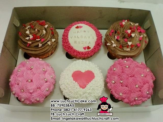 cupcake valentine murah surabaya - sidoarjo
