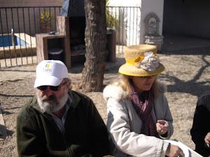 Jesús Rincón y Mar Galvan
